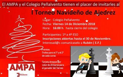 1er Torneo Navideño de Ajedrez 2018